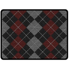 Wool Texture With Great Pattern Double Sided Fleece Blanket (large)  by BangZart