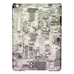 White Technology Circuit Board Electronic Computer Ipad Air Hardshell Cases by BangZart