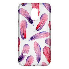 Watercolor Pattern With Feathers Galaxy S5 Mini by BangZart
