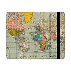 Vintage World Map Samsung Galaxy Tab Pro 8 4  Flip Case by BangZart