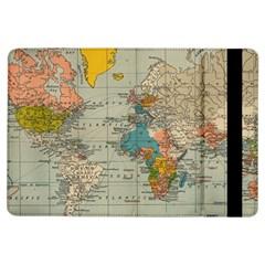 Vintage World Map Ipad Air Flip by BangZart