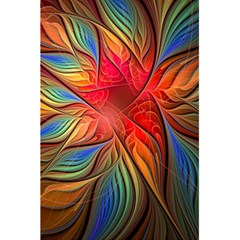 Vintage Colors Flower Petals Spiral Abstract 5 5  X 8 5  Notebooks by BangZart