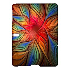Vintage Colors Flower Petals Spiral Abstract Samsung Galaxy Tab S (10 5 ) Hardshell Case  by BangZart
