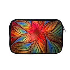 Vintage Colors Flower Petals Spiral Abstract Apple Macbook Pro 13  Zipper Case by BangZart