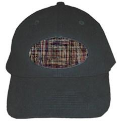 Unique Pattern Black Cap by BangZart
