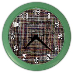 Unique Pattern Color Wall Clocks by BangZart