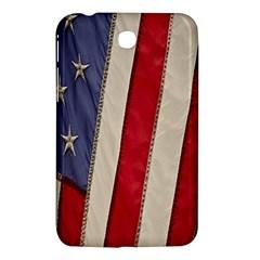 Usa Flag Samsung Galaxy Tab 3 (7 ) P3200 Hardshell Case  by BangZart