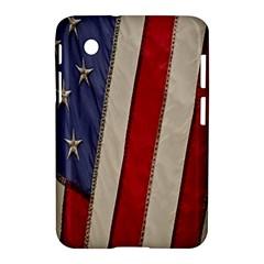 Usa Flag Samsung Galaxy Tab 2 (7 ) P3100 Hardshell Case  by BangZart