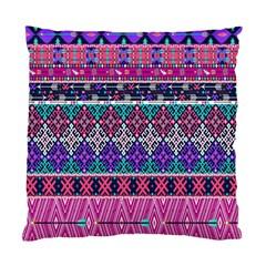 Tribal Seamless Aztec Pattern Standard Cushion Case (two Sides) by BangZart