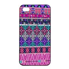 Tribal Seamless Aztec Pattern Apple Iphone 4/4s Seamless Case (black) by BangZart