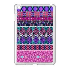 Tribal Seamless Aztec Pattern Apple Ipad Mini Case (white) by BangZart