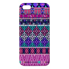 Tribal Seamless Aztec Pattern Iphone 5s/ Se Premium Hardshell Case by BangZart
