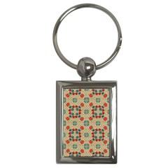 Traditional Scandinavian Pattern Key Chains (rectangle)  by BangZart