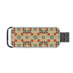 Traditional Scandinavian Pattern Portable Usb Flash (one Side) by BangZart