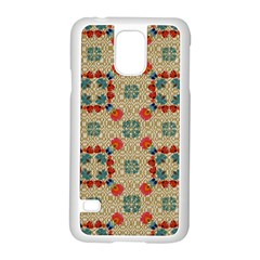 Traditional Scandinavian Pattern Samsung Galaxy S5 Case (white) by BangZart