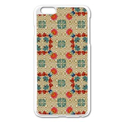 Traditional Scandinavian Pattern Apple Iphone 6 Plus/6s Plus Enamel White Case by BangZart