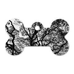 Tree Fractal Dog Tag Bone (two Sides) by BangZart