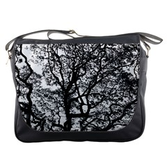 Tree Fractal Messenger Bags by BangZart