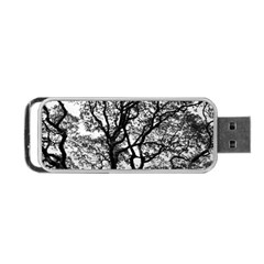 Tree Fractal Portable Usb Flash (two Sides) by BangZart