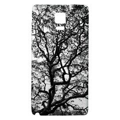 Tree Fractal Galaxy Note 4 Back Case by BangZart