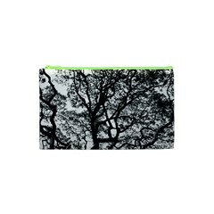 Tree Fractal Cosmetic Bag (xs) by BangZart
