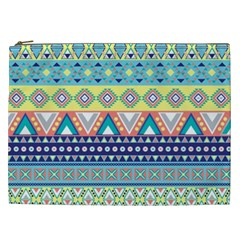 Tribal Print Cosmetic Bag (xxl)  by BangZart