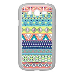 Tribal Print Samsung Galaxy Grand Duos I9082 Case (white) by BangZart