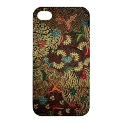 Traditional Batik Art Pattern Apple Iphone 4/4s Hardshell Case by BangZart