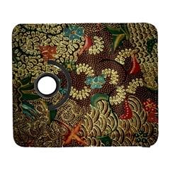 Traditional Batik Art Pattern Galaxy S3 (flip/folio) by BangZart