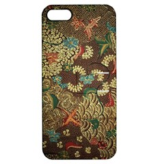 Traditional Batik Art Pattern Apple Iphone 5 Hardshell Case With Stand by BangZart