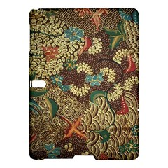 Traditional Batik Art Pattern Samsung Galaxy Tab S (10 5 ) Hardshell Case  by BangZart