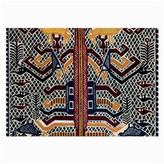 Traditional Batik Indonesia Pattern Large Glasses Cloth (2 Side) by BangZart
