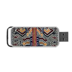 Traditional Batik Indonesia Pattern Portable Usb Flash (one Side) by BangZart