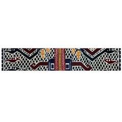 Traditional Batik Indonesia Pattern Flano Scarf (large) by BangZart