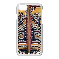 Traditional Batik Indonesia Pattern Apple Iphone 7 Seamless Case (white) by BangZart