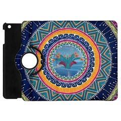 Traditional Pakistani Art Apple Ipad Mini Flip 360 Case by BangZart