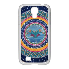 Traditional Pakistani Art Samsung Galaxy S4 I9500/ I9505 Case (white) by BangZart