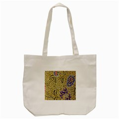 Traditional Art Batik Pattern Tote Bag (cream) by BangZart
