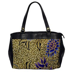 Traditional Art Batik Pattern Office Handbags by BangZart