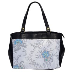 Traditional Art Batik Flower Pattern Office Handbags by BangZart