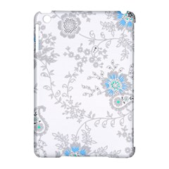 Traditional Art Batik Flower Pattern Apple Ipad Mini Hardshell Case (compatible With Smart Cover) by BangZart