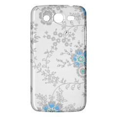 Traditional Art Batik Flower Pattern Samsung Galaxy Mega 5 8 I9152 Hardshell Case  by BangZart