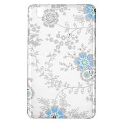 Traditional Art Batik Flower Pattern Samsung Galaxy Tab Pro 8 4 Hardshell Case by BangZart