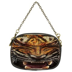Tiger Face Chain Purses (two Sides)  by BangZart