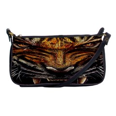 Tiger Face Shoulder Clutch Bags by BangZart