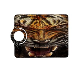 Tiger Face Kindle Fire Hd (2013) Flip 360 Case by BangZart