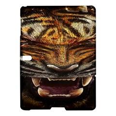 Tiger Face Samsung Galaxy Tab S (10 5 ) Hardshell Case  by BangZart