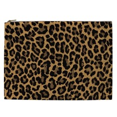 Tiger Skin Art Pattern Cosmetic Bag (xxl)  by BangZart