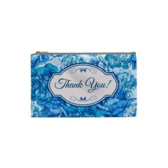 Thank You Cosmetic Bag (small)  by BangZart