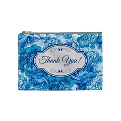 Thank You Cosmetic Bag (medium)  by BangZart